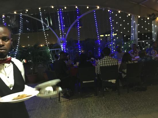 The Charcoal Grill Restaurant & Coffee Lounge: The terrace