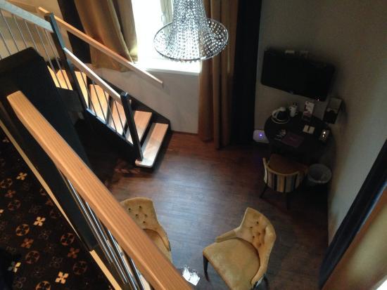 Banken Hotel: An inside view of my last room.