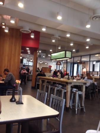 Nice dining room - Picture of Chick-fil-A, Chicago - TripAdvisor