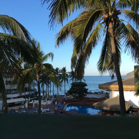 El Cid Castilla Beach Hotel: View from our room