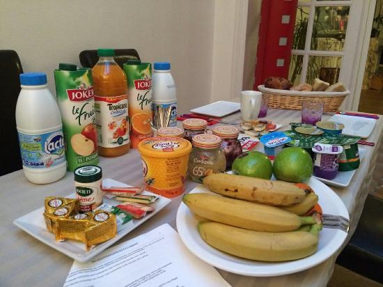 L'Escale Malouine: Ontbijt