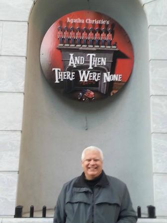 Walnut Street Theatre: Outside Theater Sign