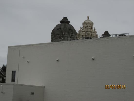 Temple dome - Picture of Hindu Temple & Cultural Center