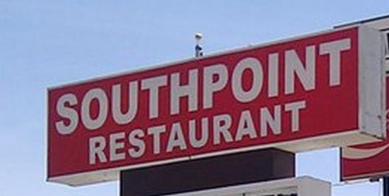 South Point Restaurant: SouthPoint Restaurant Sign