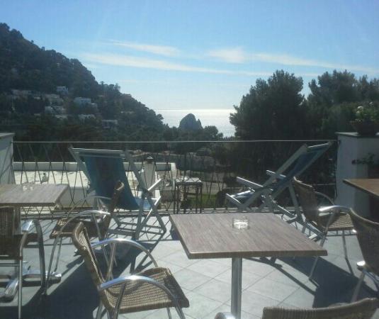 Hotel La Tosca: En pleine nature avec une vue magnifique.