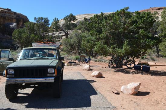 hotel review reviews squaw flat campground canyonlands national park utah