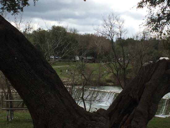 One of the water falls picture of blanco state park for Blanco state park fishing