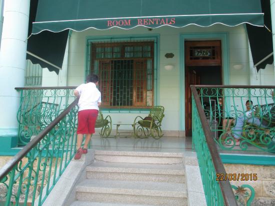 Hosteria Cartacuba: Entrada