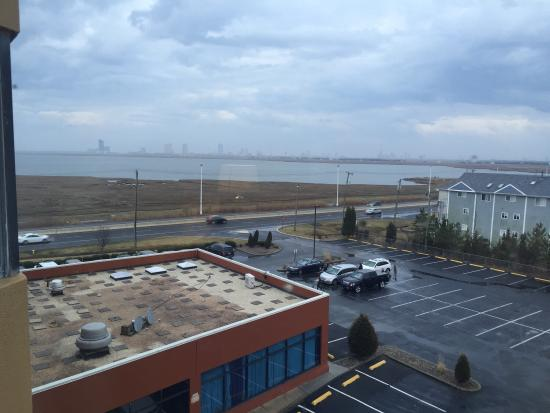 Travelodge Absecon Atlantic City: City view?  Really?