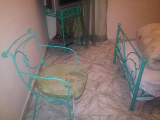Les Jardins d'Ourika : Chaises