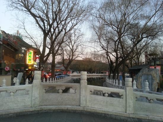 Yinding Bridge: View from the bridge.
