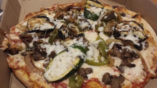 Vesuvio Ristorante: great pizza