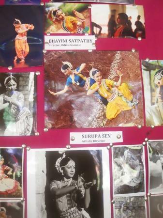 Nrityagram Tour: Photo wall