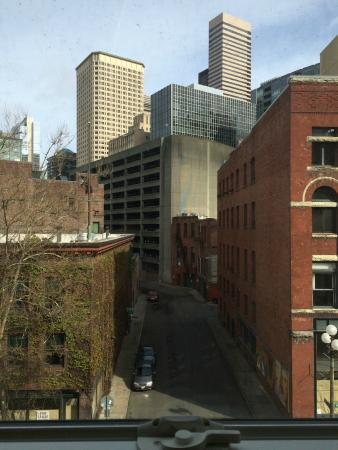 Best Western Plus Pioneer Square Hotel: view from our fourth story room