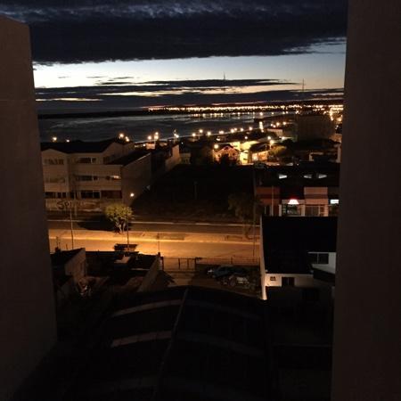 Río Grande: vista del hotel