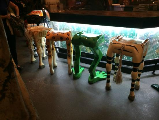 love the animal leg bar stools Foto di Rainforest Cafe  : rainforest cafe from tripadvisor.it size 550 x 413 jpeg 34kB