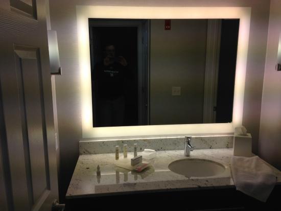 Homewood Suites by Hilton Memphis-Poplar : King bathroom vanity