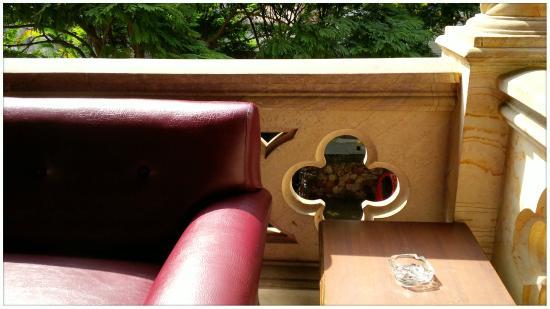 Hotel Stein Colonial: Zona de descanso y tertulia