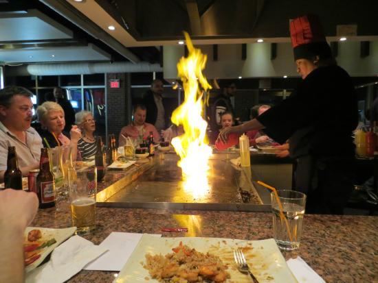Japanese Hibachi Restaurant Montreal