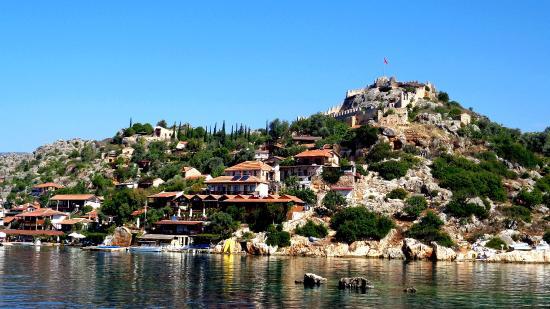 The Castle - Picture of Castle of Simena, Demre (Kale ...