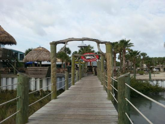 Entrance To Pier Picture Of The Conch House Marina