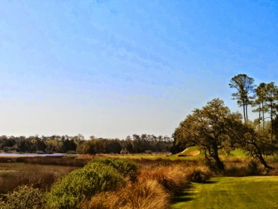 Glen Dornoch Waterway Golf Links : the 17th