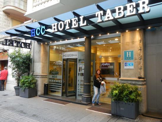 HCC Taber: Frente del Hotel