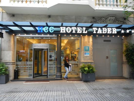 HCC Taber: Entrada del Hotel
