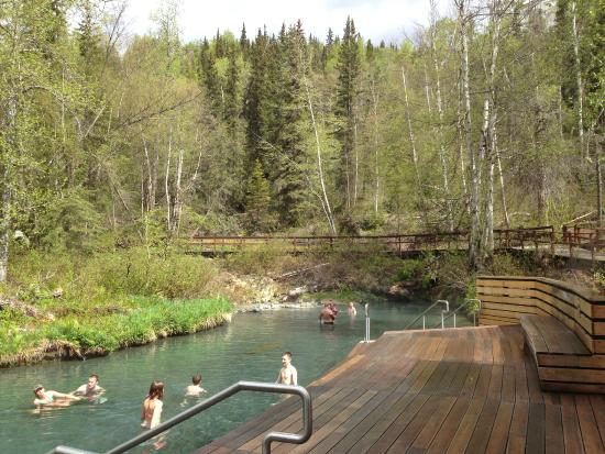 plenty of room picture of liard river hot springs provincial park rh tripadvisor ie