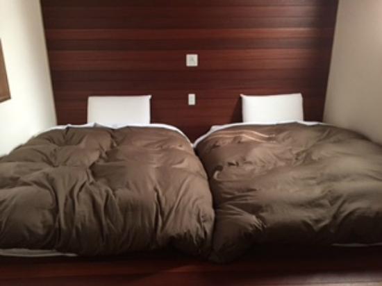 President Resort Karuizawa: 広くて素敵なベッドルーム
