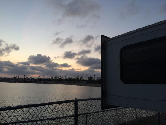 Mission Bay RV Resort: Site 36, April 2015