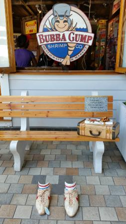 Forrest Bench Picture Of Bubba Gump Shrimp Co Oahu Tripadvisor