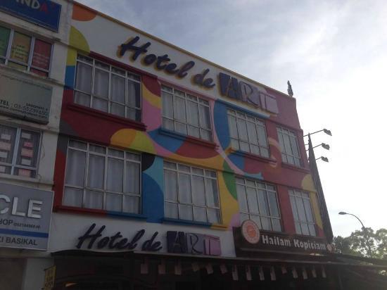 Hotel de Art: Exterior