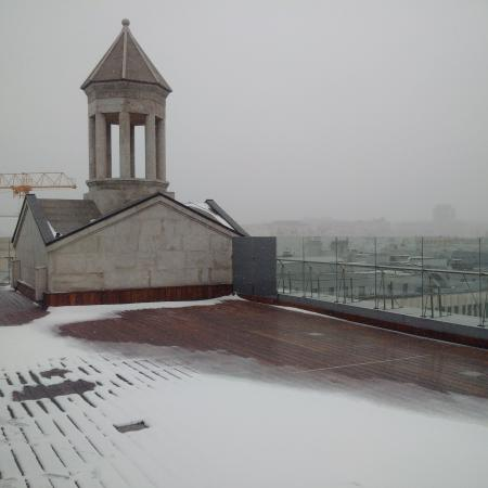 Ararat Park Hyatt Moscow: view from the terrace of the 10th floor