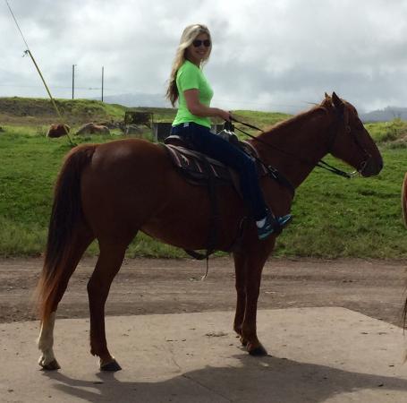 Dahana Ranch: Getting ready to ride !