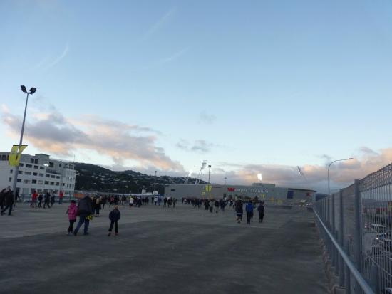 Westpac Stadium: from the outside