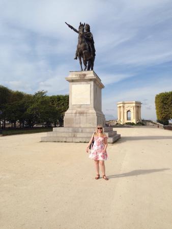 Porte du Peyrou : Jardin du Peyrou - October 2014