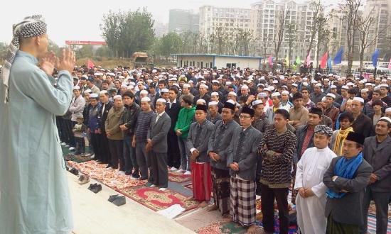 Nanchang Mosque: Takbir Bersama