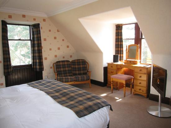 Dalrachney Lodge Hotel : Super King en-suite - Room 9