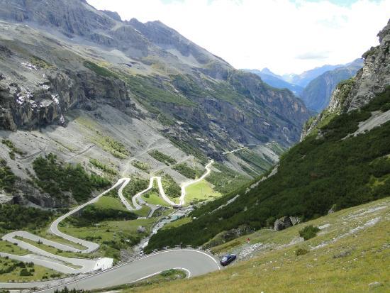 Stelvio Pass: widok