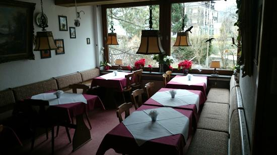 Gastehaus Alpenkranz: Room for breakfast