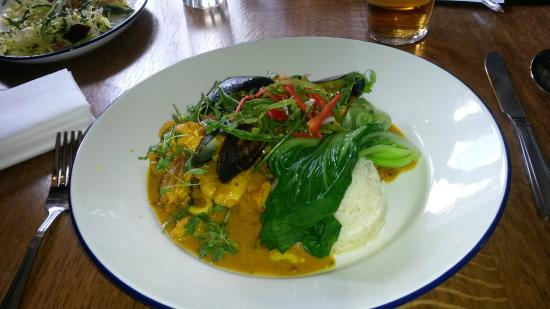 The White Hart: Malaysian Fish Stew