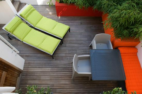 Villa Des Canuts : terrasse privative