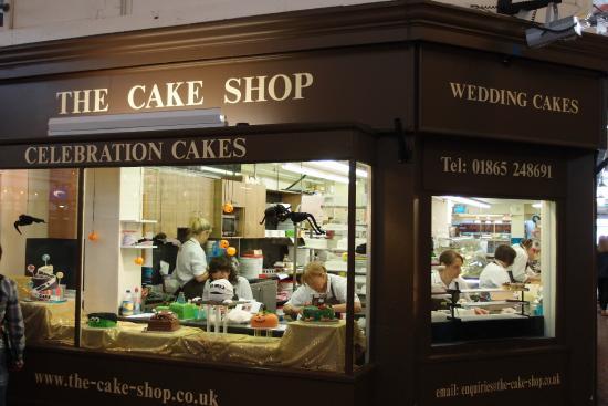 Cake Shop Covered Market Oxford