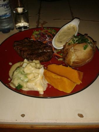 Bello Cibo Restaurant: ostrich steak