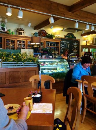 Door County Coffee and Tea Co.: Pastry display