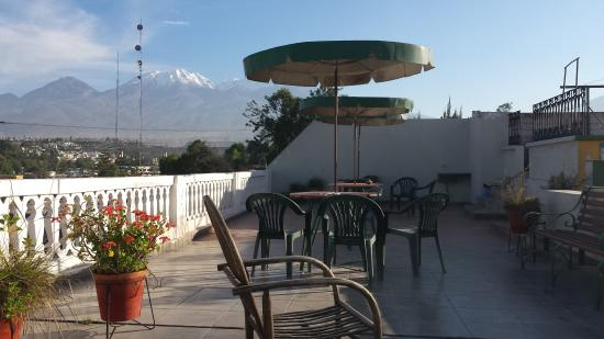 Hostal Santa Catalina: rooftop view