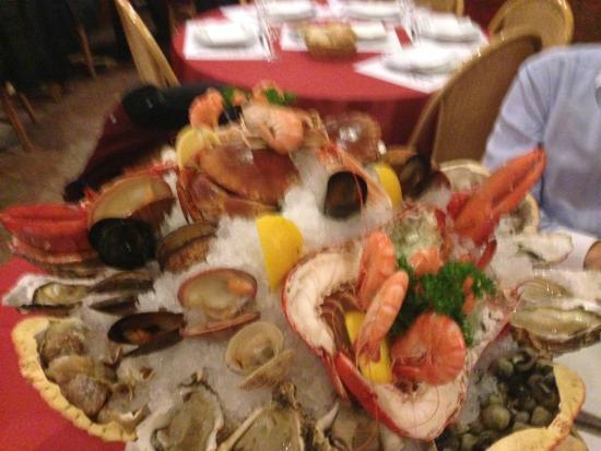 PEDRA ALTA : Le plateau de fruits de mer pour deux