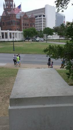 The Sixth Floor Museum: Location of the famous Zapruder filming