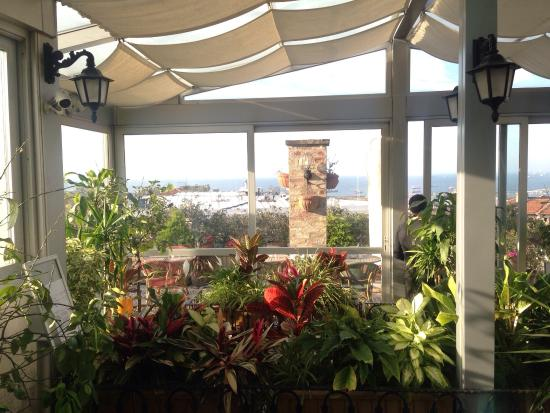 Hotel Niles Istanbul: The very charming penthouse! We enjoyed watching the sea!